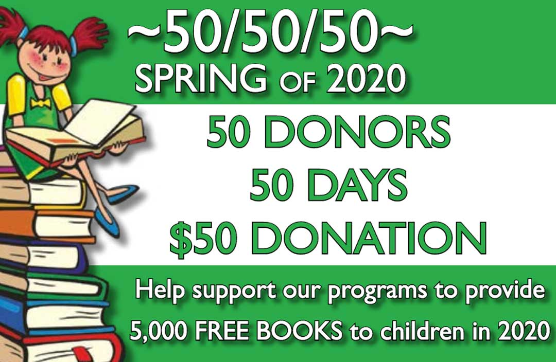 50-50-50 fundraiser
