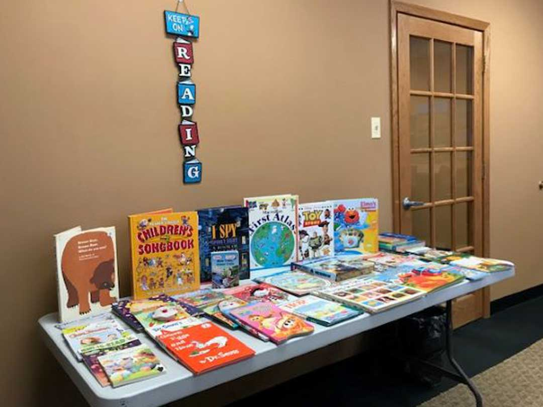 Downers Grove Rotary Box Book Drive