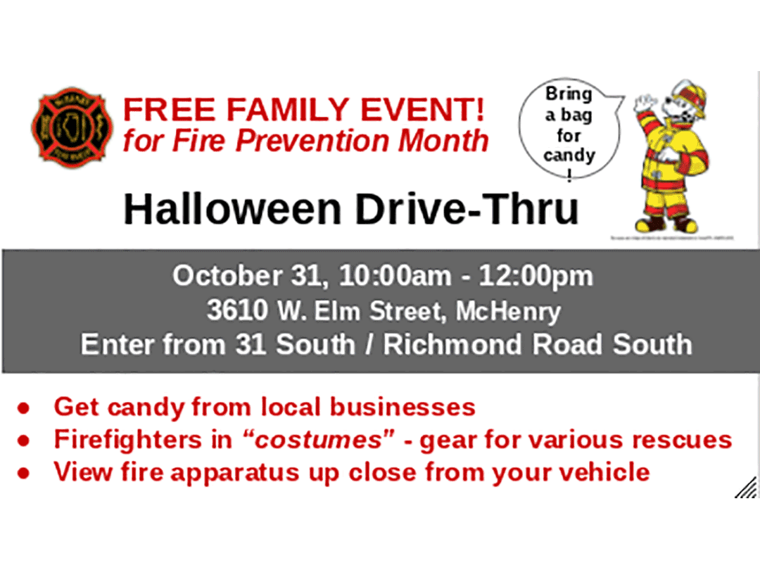 Halloween Drive Thru Resource Fair